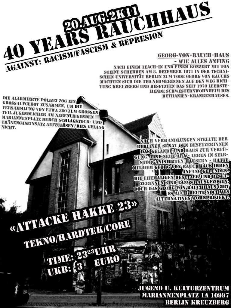40 Jahre Rauchhaus
