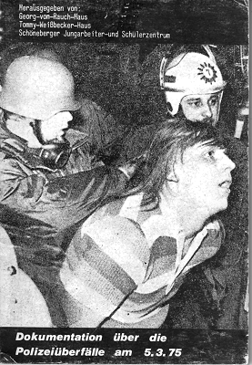 Polizeiüberfall auf die Häuser 1975